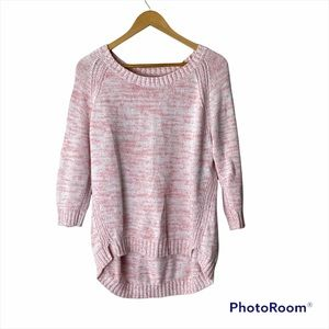 GAP Factory Marbled Knit Sweater